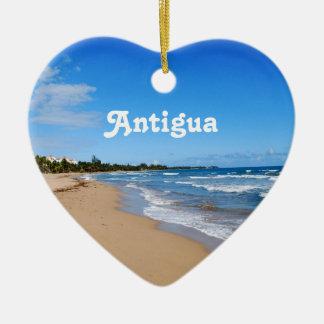 Playa de Antigua Adorno De Cerámica En Forma De Corazón