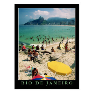 """Playa de Arpoador, postal de Río de Janeiro"""