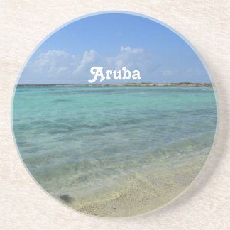 Playa de Aruban Posavasos Cerveza