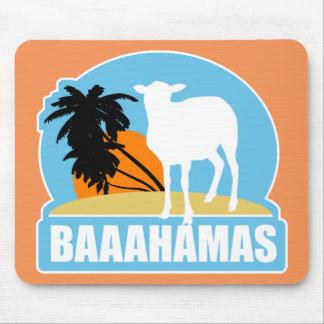 Playa de Baaahamas Alfombrilla De Ratón