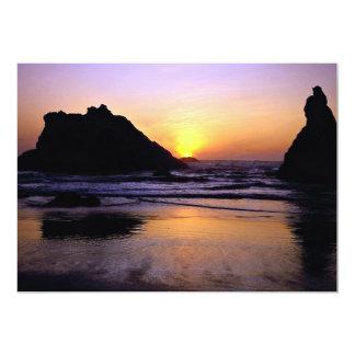Playa de Bandon, Bandon, Oregon, los E.E.U.U. Anuncio