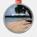 Playa de Barbados Adornos De Navidad