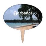 Playa de Barbados Figuras De Tarta