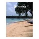 Playa de Barbados Tarjetas Postales