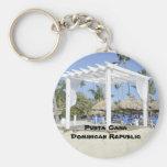 Playa de Bavaro en la isla de Punta Cana Llaveros Personalizados