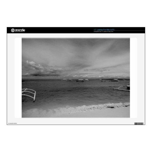 Playa de Bohol Calcomanías Para 43,2cm Portátiles