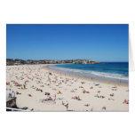 Playa de Bondi, Sydney, Australia Felicitación