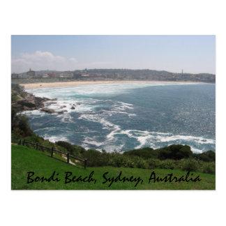Playa de Bondi, Sydney, Australia Tarjeta Postal