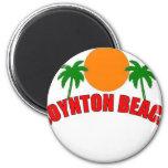 Playa de Boynton, la Florida Imán Redondo 5 Cm