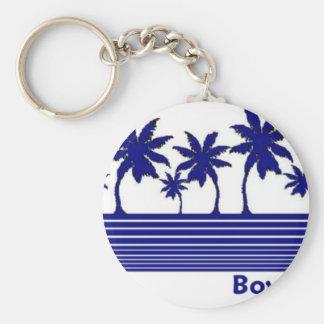 Playa de Boynton, la Florida Llavero Redondo Tipo Pin