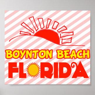 Playa de Boynton, la Florida Posters