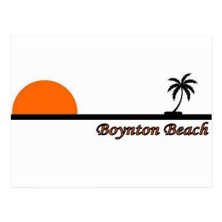 Playa de Boynton, la Florida Postales