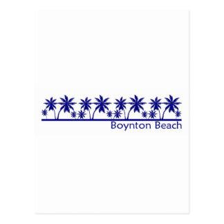 Playa de Boynton, la Florida Tarjetas Postales