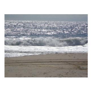 Playa de Bradley, NJ Tarjeta Postal