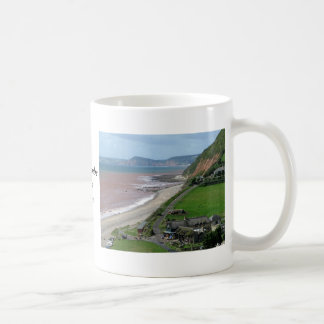 Playa de Branscombe Tazas De Café