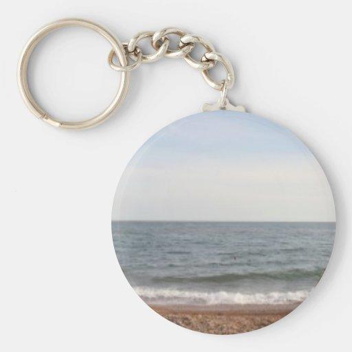Playa de Brighton Llavero Redondo Tipo Pin