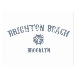 Playa de Brighton Tarjetas Postales