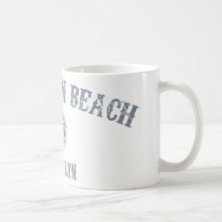 Playa de Brighton Taza De Café