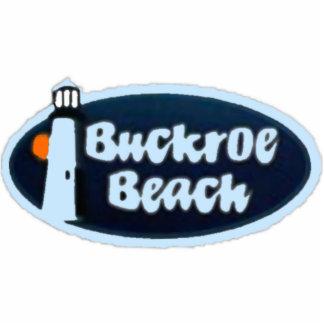 Playa de Buckroe Fotoescultura Vertical