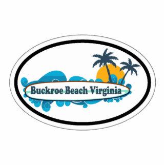 Playa de Buckroe Imán Fotoescultura