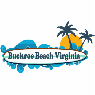 Playa de Buckroe Pin Fotoescultura