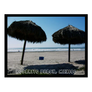Playa de CA Rosarito, playa de Rosarito, México II Tarjetas Postales