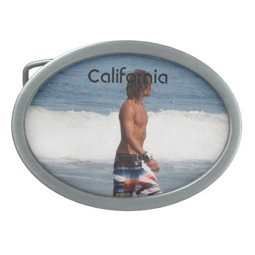 Playa de California Hebillas De Cinturón