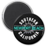 Playa de California meridional - de Newport Iman Para Frigorífico
