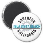 Playa de California meridional Isla Vista Iman De Nevera