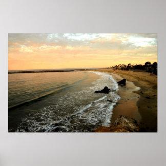 Playa de California meridional Posters