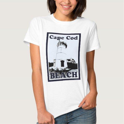 Playa de Cape Cod T-shirts