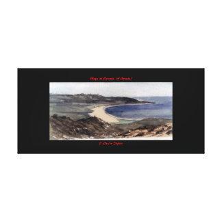 Playa de Carnota (A Coruña) Lienzo Envuelto Para Galerias