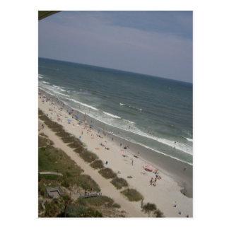 Playa de Carolina del Norte Tarjeta Postal