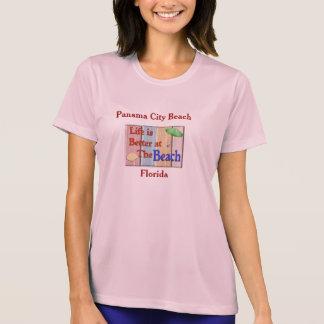 Playa de ciudad de Panamá - camiseta Poleras