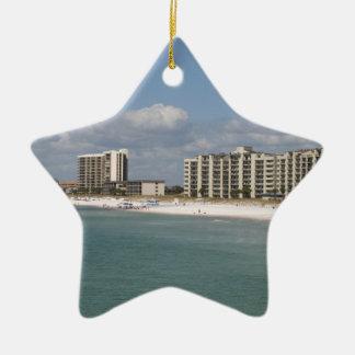 Playa de ciudad de Panamá la Florida Ornamento Para Reyes Magos