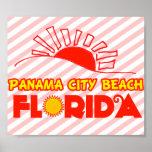 Playa de ciudad de Panamá, la Florida Póster