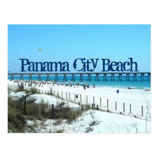 Playa de ciudad de Panamá, la Florida Tarjeta Postal