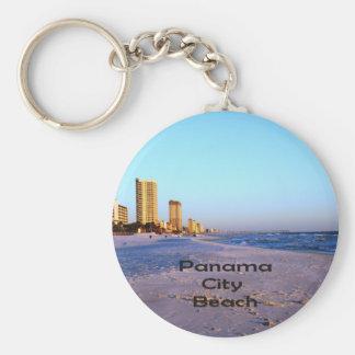 Playa de ciudad de Panamá Llaveros Personalizados