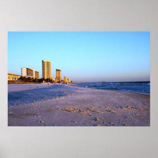 Playa de ciudad de Panamá Impresiones