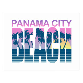 Playa de ciudad de Panamá Tarjeta Postal