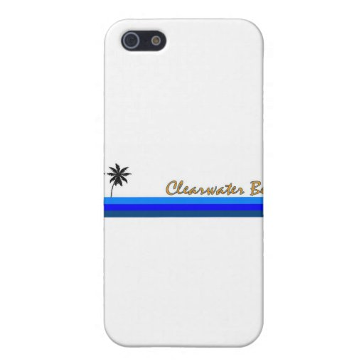 Playa de Clearwater, la Florida iPhone 5 Fundas