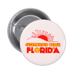Playa de Clearwater, la Florida Pin Redondo 5 Cm