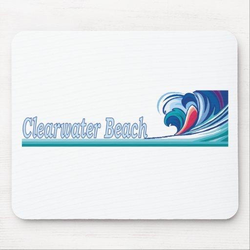 Playa de Clearwater, la Florida Alfombrilla De Ratones
