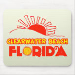 Playa de Clearwater, la Florida Tapetes De Ratones