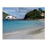Playa de Cokie, St Thomas Tarjetas Postales