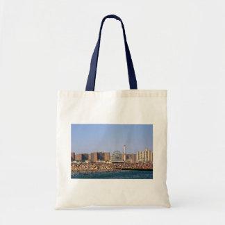 Playa de Coney Island - la bolsa de asas de NYC