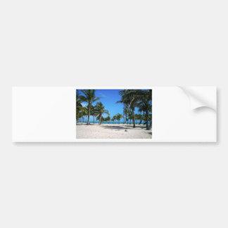 Playa de Crandon Pegatina Para Auto
