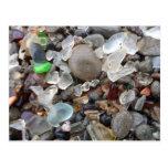 Playa de cristal Fort Bragg, CA Postales