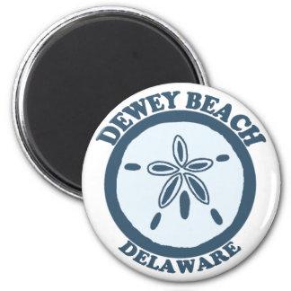 Playa de Dewey Imán Redondo 5 Cm