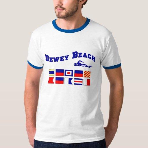 Playa de Dewey Playera